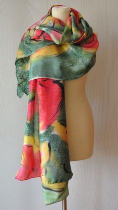 Natural, Fashion, Silk, Red, Moda, Fashion Styles, Fashion Illustrations, Nature, Au Natural