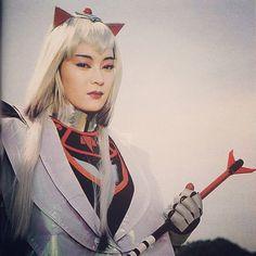 Rainha Ahames, vilã do tokusatsu Changeman