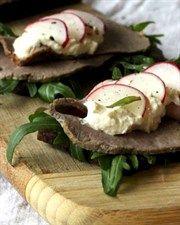 Rare Roast Beef & Horseradish