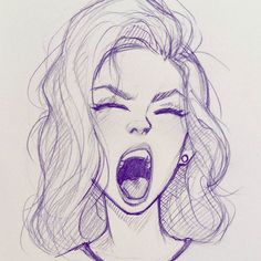 Fun with expressions on my lunch break. #sketch #drawing #illustration #doodle #expression #cameronmarkart #art