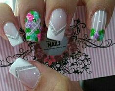Summer Nails, Nail Art, How To Make, Cara Makeup Natural, Art Nails, Enamels, Templates, Vestidos, Lace Nails