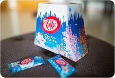 Mt. Fuji KitKat : Blueberry Cheesecake flavor