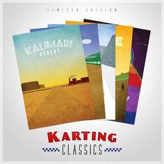Mario Karting Classic Posters - Full Series