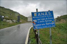Passo dello Spluga (2115 m) - Valico tra Italia e Svizzera