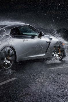 Nissan GTR in motion, #CarCreditTampa Happy Customer!  #YOUareAPPROVED, #UsedCars, www.carcredittampa.com