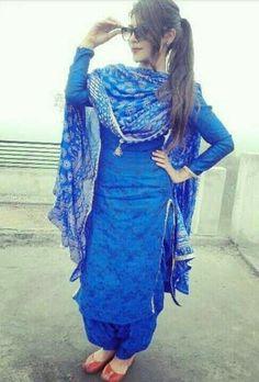 suit suit Punjabi Girls, Punjabi Dress, Pakistani Dresses, Indian Dresses, Salwar Designs, Patiala Suit Designs, Designer Punjabi Suits, Indian Designer Wear, Indian Suits