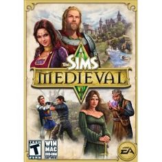 The Sims Medieval -- I need this in my life yesterday