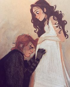 Darth Vader Discover Lost love Nooo not lost love a BIG love was waiting on the other side of that veil. Star Wars Fan Art, Star Trek, Star Wars Padme, Star Citizen, Pixar, Anakin And Padme, Big Love, Lost Love, Star War 3