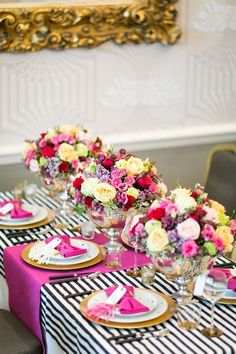 Wedding Table Napkins Kate Spade Ideas For 2019 Kate Spade Party, Kate Spade Bridal, Deco Table, Decoration Table, Event Decor, Trendy Wedding, Wedding Reception, Wedding Tables, Just In Case