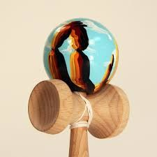 Image result for cool painted kendamas