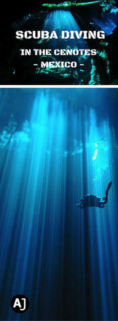 An Incredible Experience Diving in the Cenotes of the Yucatan Peninsula, Mexico.