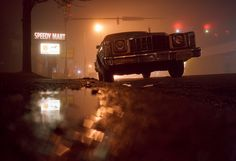 Photographer: Patrick Joust - this is the coolest shot ever for when he is shoved out of the car