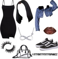 Best Cute Outfits For School Part 16 Teenager Outfits, Baddie Outfits Casual, Swag Outfits For Girls, Cute Swag Outfits, Teenage Girl Outfits, Cute Comfy Outfits, Teen Fashion Outfits, Dope Outfits, Girly Outfits