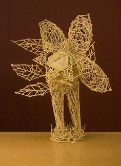 Toothpick Sculpture ata toothpick clip sculpture, view 2 | toothpick sculpture