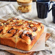 【30分でできる】チョコレートロールちぎりパン : ゆーママ(松本有美)