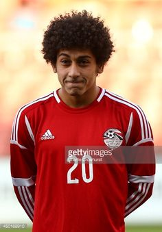 Hussin Elsayed of Egypt during the International Friendly match between Jamacia and Egypt at The Matchroom Stadium on June 04 2014 in London England