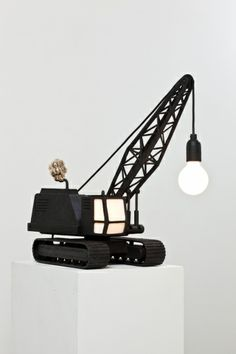 Wrecking ball lamp.    Carpenters Workshop Gallery | Works