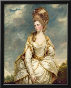 Miss Sarah Campbell, 1777-78 Giclee Print by Sir Joshua Reynolds at AllPosters.com
