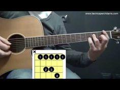 Lezioni di chitarra: accordi di quarta su tutta la tastiera della chitarra — CHITARRA DA ZERO