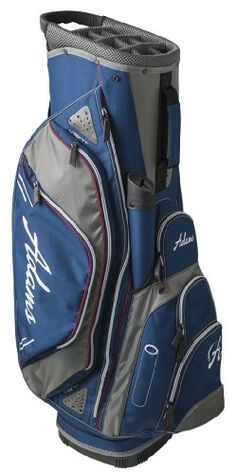 8bca20b9ca Adams Golf Cart Bag CT1414 (Blue). External putter well