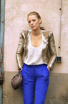 Street fashion: Serena Van Der Woodsen