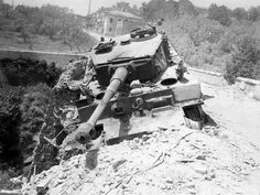 Tiger 1....knocked out