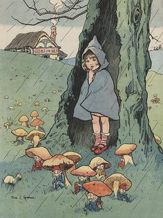 Rosa Petherick grimm and fairy toadstool pixies childrens book illustration Art And Illustration, Book Illustrations, Pretty Art, Cute Art, Arte Obscura, Arte Sketchbook, Mushroom Art, Fairytale Art, Fairy Art