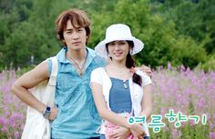Summer Scent starring Song Seung Hun, Son Ye Jin, Han Ji Hye, Ryu Jin, and Shin Ae http://asianwiki.com/Scent_of_Summer