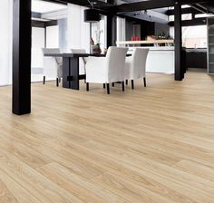 Exclusive Maple Hardwood Flooring for Expansive Interior Look Interior Room Decoration, Home Interior Design, Interior Decorating, Home Decor, Floor Design, Tile Design, House Design, Wood Laminate Flooring, Vinyl Flooring