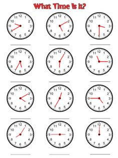 Looking for a Time Worksheets To The Minute. We have Time Worksheets To The Minute and the other about Benderos Printable Math it free. Maths Worksheets Ks2, Clock Worksheets, Free Printable Math Worksheets, Time Worksheets Grade 2, Teaching Time, Teaching Math, Teaching Clock, Teaching Resources, Teaching Geography