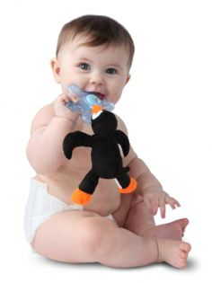 Paci-Plushies Chillies by Nookums Andrew loves his Penguin too!