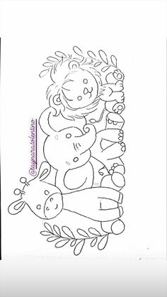 Baby Art Crafts, Arts And Crafts, Fused Glass Art, Hand Embroidery Designs, Digi Stamps, Animal Paintings, New Art, Coloring Pages, Needlework