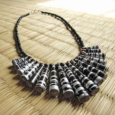 Just an Idea for paper beads jewelry