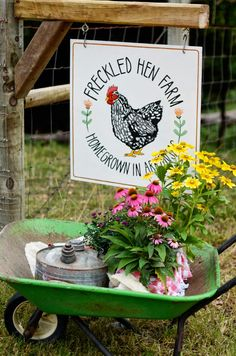 freckled hen farmhouse EC workshop: canning - Modern Design The Animals, Farm Animals, Country Farm, Country Life, Country Living, Country Style, Hen Farm, Chicken Signs, Future Farms