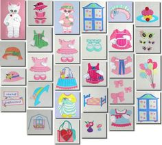 Machine Embroidery Children Miss Puff Dream by DollHousePrinties