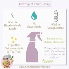 Nettoyant multi usage   (Mémé dans les orties) Gel Douche, Lotion, Laundry Detergent, Soap, Baking Soda, Products, Lotions