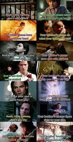 Supernatural Nursery Rhyme. I'm not crying. Psh. I'm also definitely not going to sing this to my children in the future. Nope.