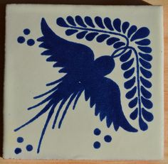 12 Mexican Talavera tiles handpainted 4 X 4 by MexicanTiles, $17.50