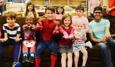 Its always a treat to hang out with the kids at @rmhnewyork and take pics. A special thanks to @tomholland2013 for coming to Ronald McDonald House and hanging out with the kiddos you absolutely made their day. #spiderman #tomholland #spidemanhomecoming