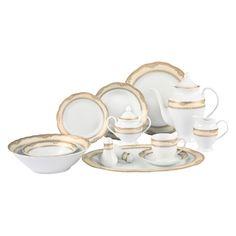 Found it at Joss & Main - 57-Piece Isabella Porcelain Dinnerware Set