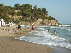 Punta Capezzolo Castiglione della Pescaia Maremma Tuscany Italy in October