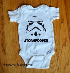 can there be a more perfect star wars onsie?