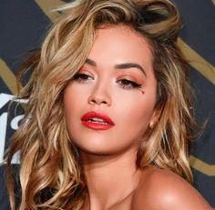 Rita Ora's close-up