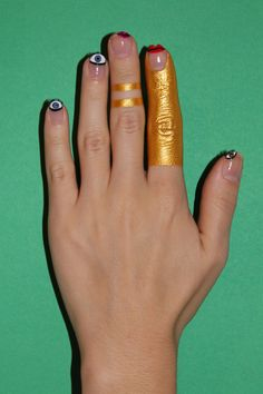 Sexy Surrealist Nail Art To Put All Other Nail Art To Shame