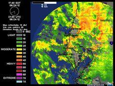 Current Tampa Bay TDWR Radar Map   Weather Underground