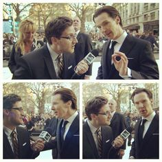 He does KILLER interviews! Can't wait for this one! Photo by joshuahorowitz