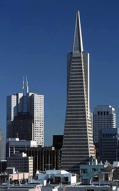 The Transamerica Pyramid, San Francisco's tallest skyscraper, was designed by architect William Pereira. Construction was completed in 1972.