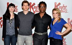 Harvey Fierstein, Cyndi Lauper, Billy Porter, Stark Sands Preview Kinky Boots - Photo Flash - Sep 14, 2012