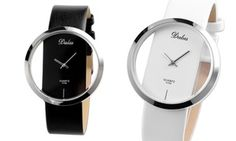 Featuring quartz movement and an alloy case, this wrist watch for women is designed with a transparent dial Quartz Watch, Pu Leather, Watches, Womens Fashion, Wristwatches, Clocks, Women's Fashion, Woman Fashion, Fashion Women
