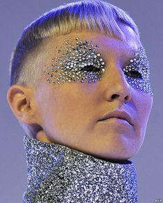 Vidal Sasson #fantasy makeup